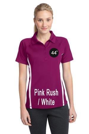 44N Sport-Tek® Ladies PosiCharge® Micro-Mesh Colorblock Polo. LST685