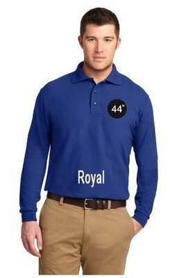 44N Port Authority® Long Sleeve Silk Touch™ Polo. K500LS