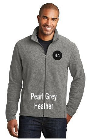 44N Port Authority® Heather Microfleece Full-Zip Jacket. F235