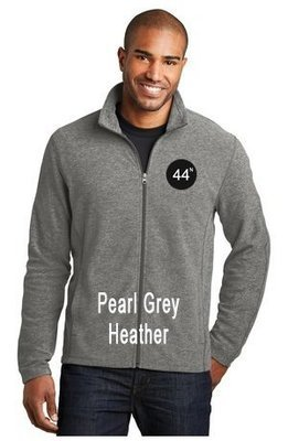 44N Port Authority® Heather Microfleece Full-Zip Jacket. F235