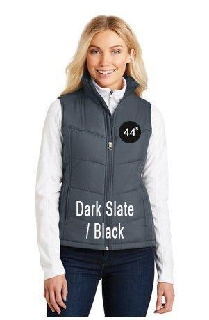 44N Port Authority® Ladies Puffy Vest. L709