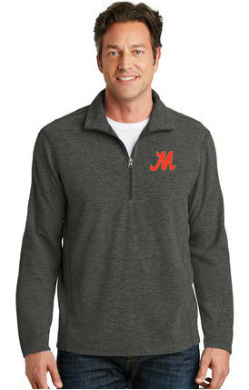 Port Authority® Heather Microfleece 1/2-Zip Pullover. F234