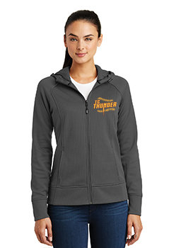 LADIES Sport-Tek®  Rival Tech Fleece Full-Zip Hooded Jacket