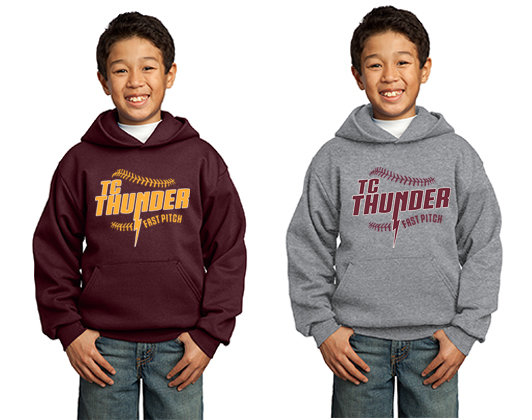 YOUTH Port & Company® - Essential Fleece Pullover Hooded Sweatshirt
