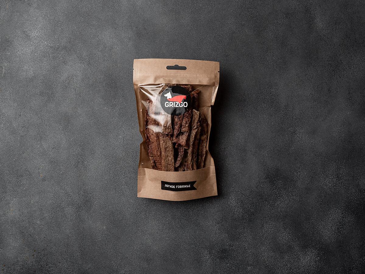 Легкое говяжье палочка сушёное 50 г