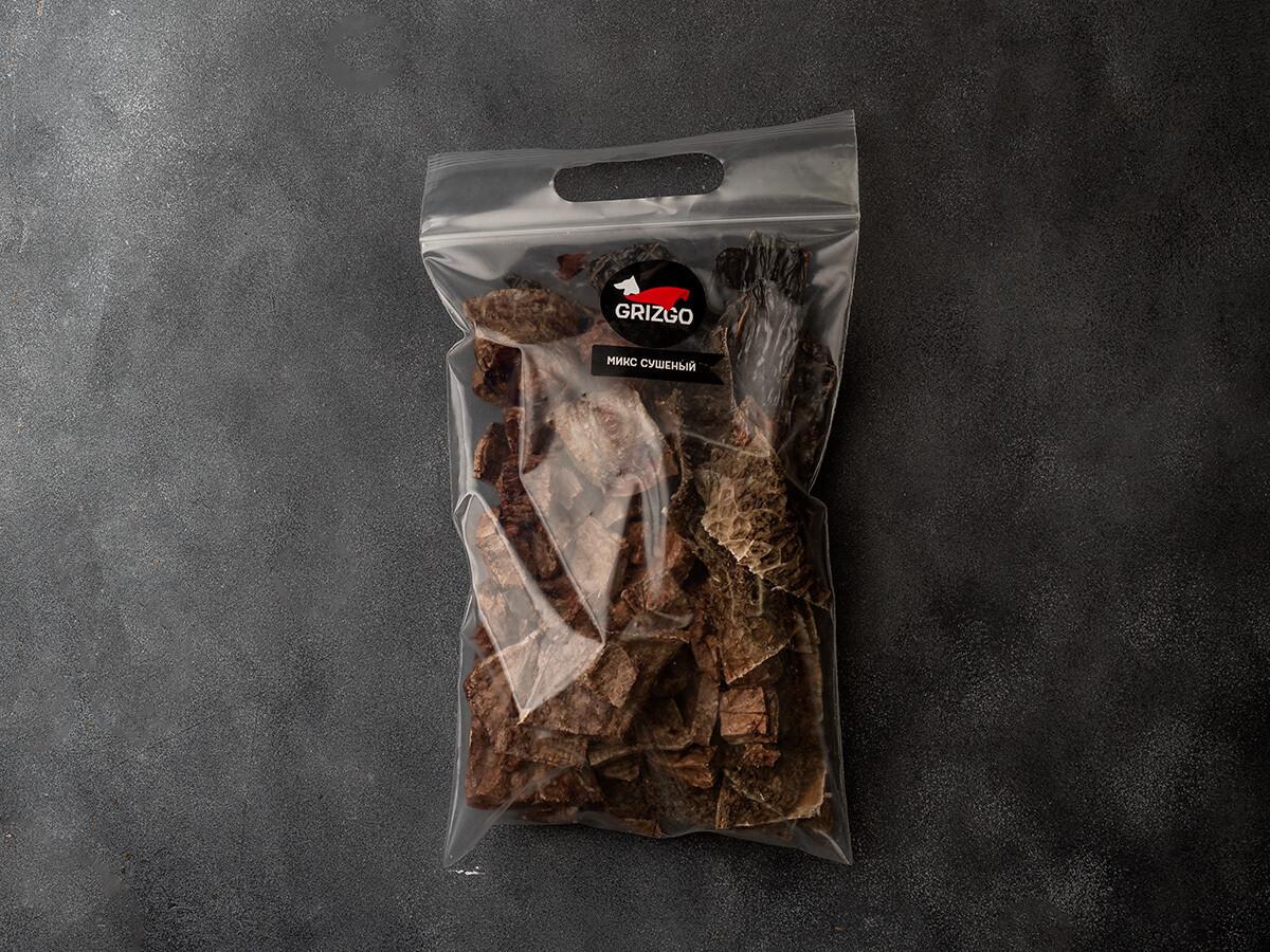 Микс (трахея, печень, рубец, лёгкое) сушёный 200 г