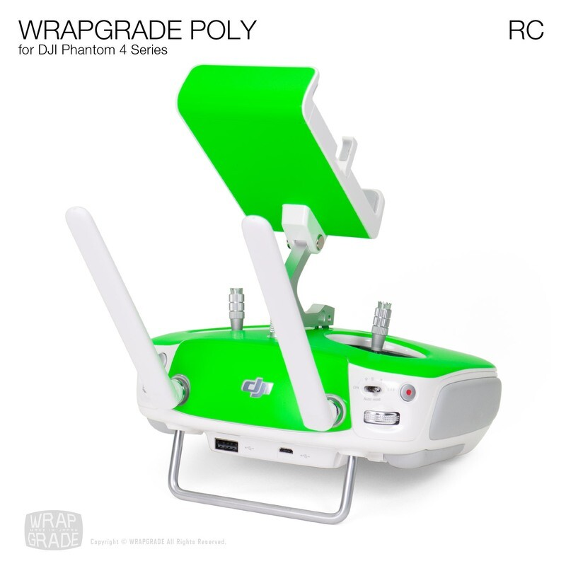 Wrapgrade Poly Skin for DJI Phantom 4 | RC [17 colors]