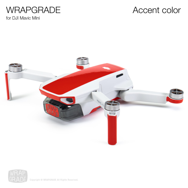 Wrapgrade Poly Skin for DJI Mavic Mini | Accent color [20 colors]