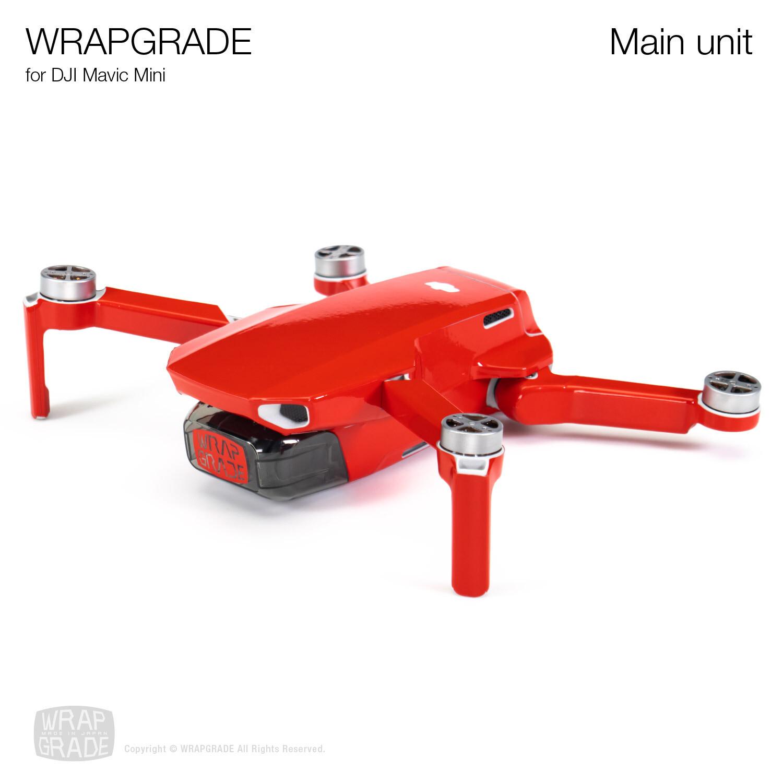 Wrapgrade Poly Skin for DJI Mavic Mini | Main unit [20 colors]