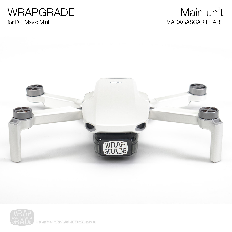 Wrapgrade Poly Skin for Mavic Mini | Main Unit (MADAGASCAR PEARL)