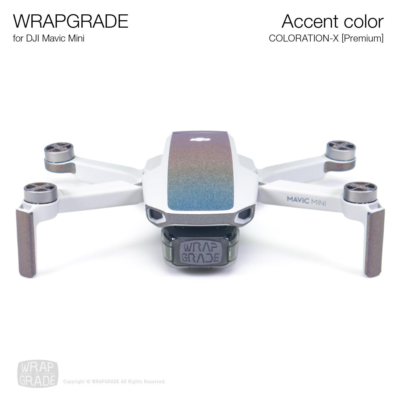 Wrapgrade Poly Skin for Mavic Mini   Accent color (COLORATION-X)