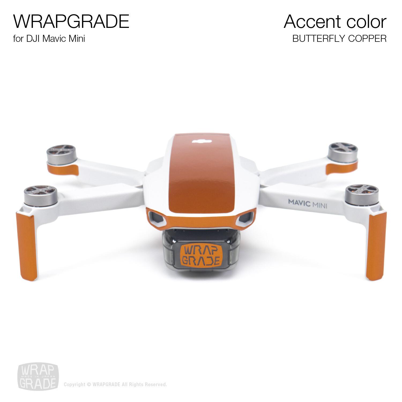 Wrapgrade Poly Skin for Mavic Mini | Accent color (BUTTERFLY COPPER)