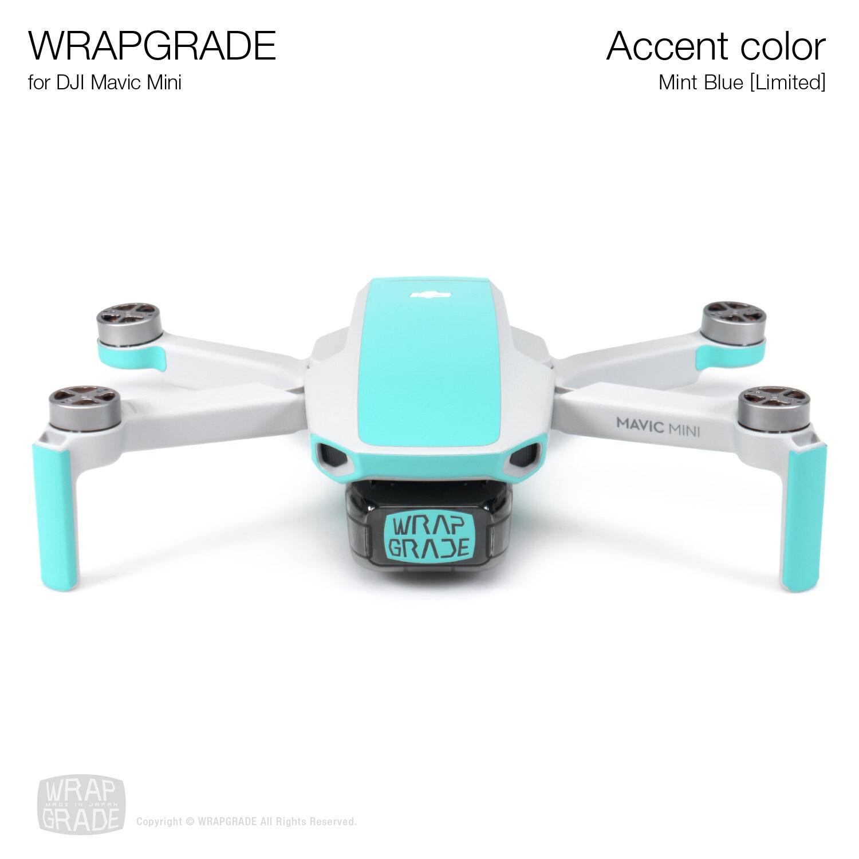 Wrapgrade Poly Skin for Mavic Mini | Accent color (MINT BLUE)
