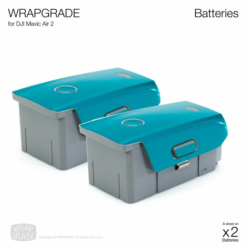 Wrapgrade Poly Skin for DJI Mavic Air 2 | Two Batteries [20 colors]