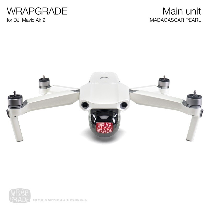 Wrapgrade for DJI Mavic Air 2 | Main Unit​ (MADAGASCAR PEARL​)