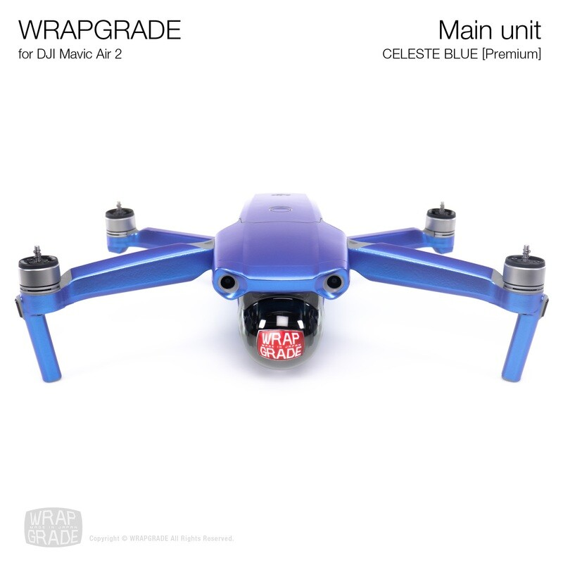 Wrapgrade for DJI Mavic Air 2 | Main Unit​ (​CELESTE BLUE)