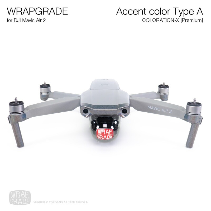Wrapgrade for DJI Mavic Air 2 | Accent Color A (COLORATION-X)