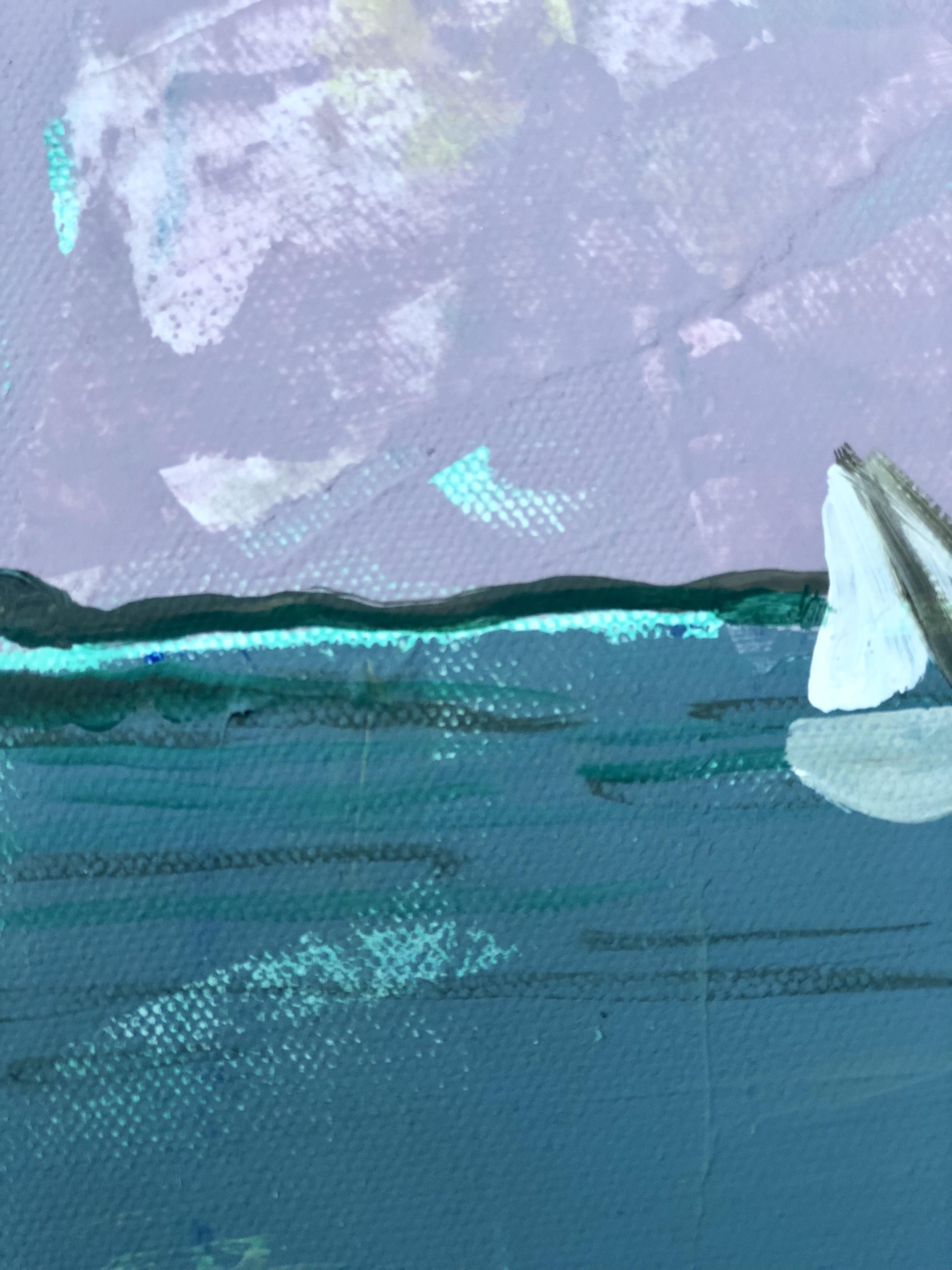 Good Morning Casco Bay (8x8)
