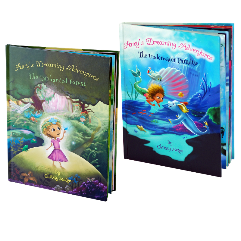 Amys Dreaming Adventures: Book 1 & Book 2 Gift Bundle