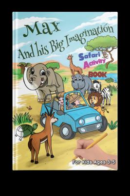 Safari Activity Book - (Age 3-5) PDF Instant Download