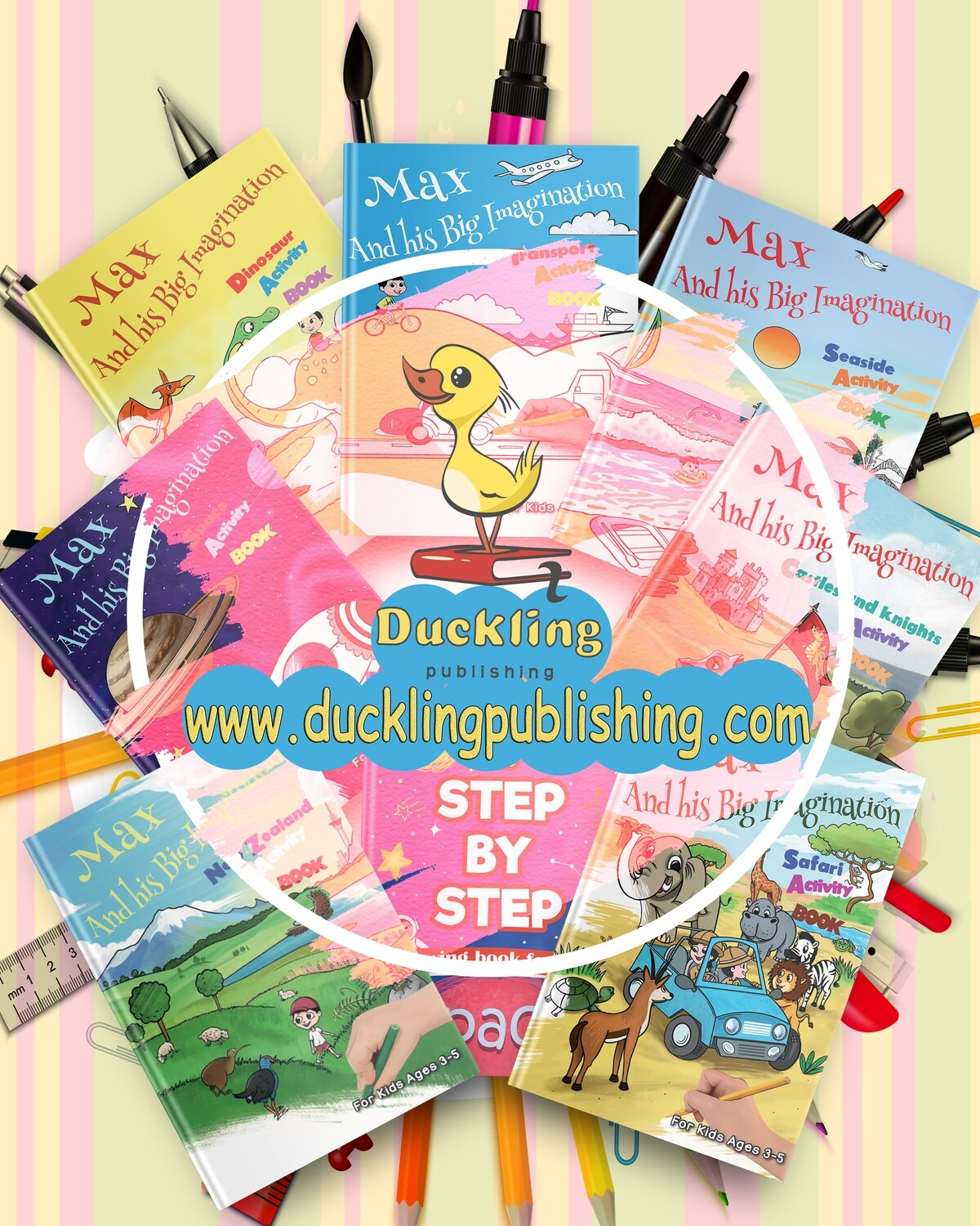 7 Activity Books - Boredom Buster Mega Pack - DOWNLOAD