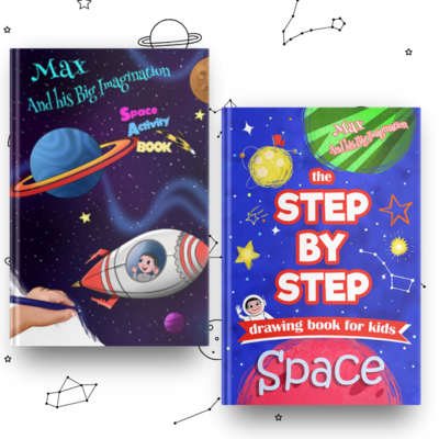 SPACE - 2 Book Activity Pack - DOWNLOAD
