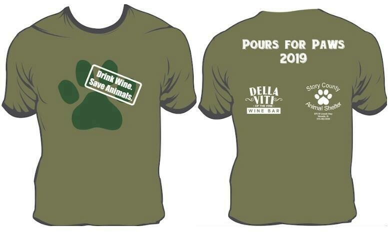 Pours for Paws Tshirt