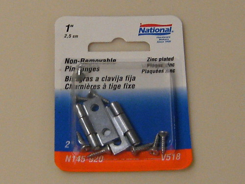 National Removable Pin Hinges 1""