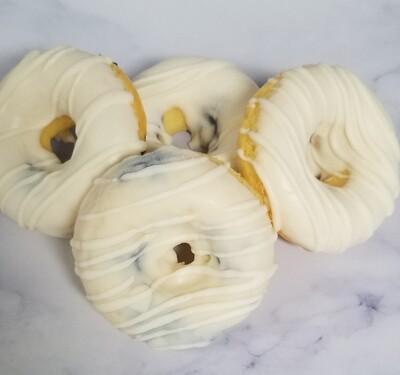 Lemon Blueberry Doughnut