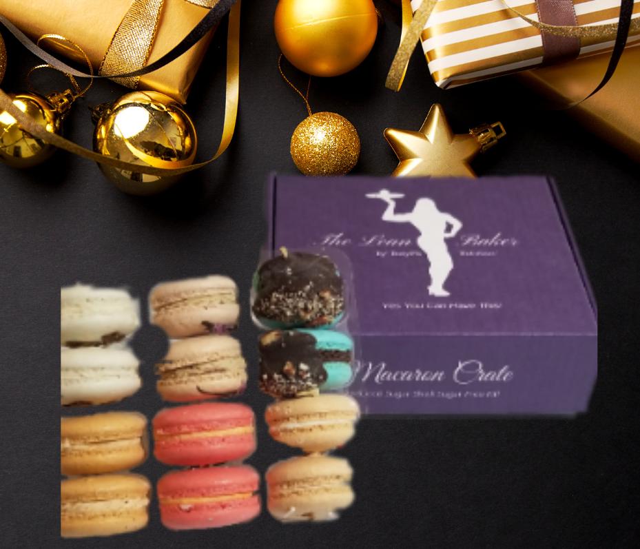 Macaron Crate -Holiday Box