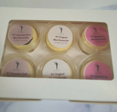 Sugar Free NY Style Mini Protein Cheesecake Sample Box
