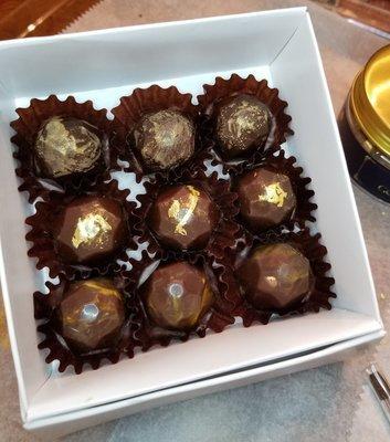 BodyFit Gems Collection #1- 9 pc Dark Chocolate Sampler