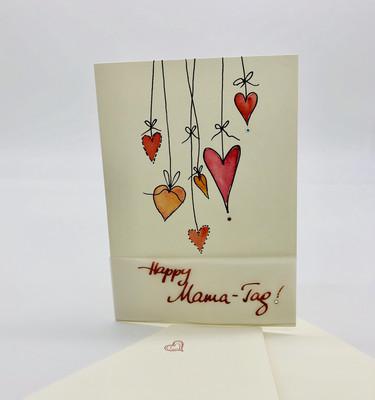 "Billett ""handmade"" Muttertag - Happy Mama-Tag!"