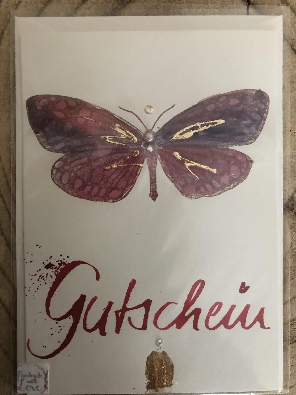 """Billett """"handmade"""" groß - Gutschein"""