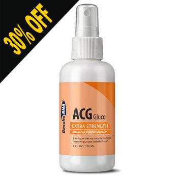ACG GLUCO- 4OZ SPRAY by Results RNA (Discounted at Checkout)