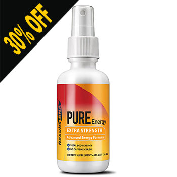 PURE ENERGY Extra Strength 2 OZ SPRAY by Results RNA (Discount at Checkout)