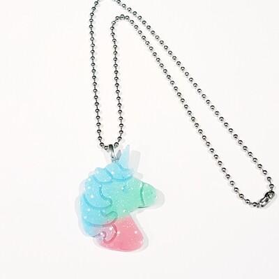 Kawaii Unicorn Necklace