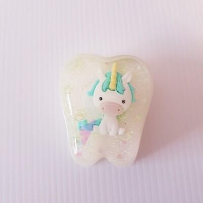 Unicorn Cream Tooth Fairy Box
