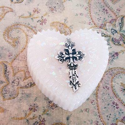 Heart Christening Box
