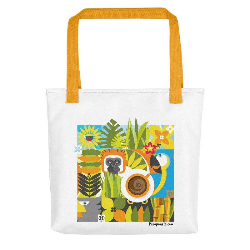 Pura Panela Jungle Tote bag