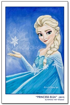 Elsa by AO - 11 x 17 Limited Edition of 10