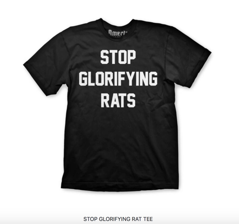 Stop Glorifying Rats