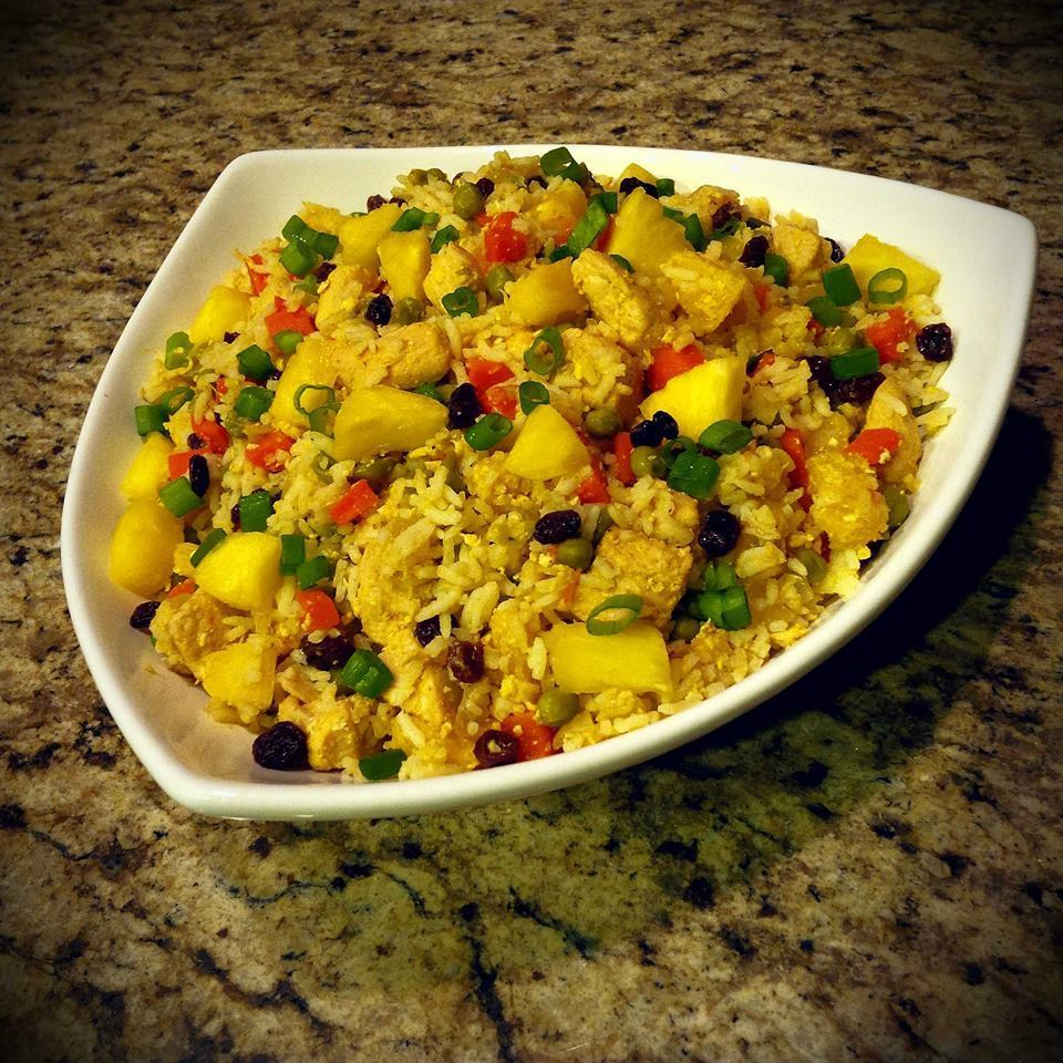 Family Meal Deal - Organic Thai Pineapple Fried Rice w/ Chicken
