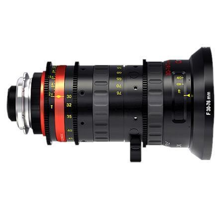 Angenieux Style 30-76 T2.8 EF Mount Zoom Lens