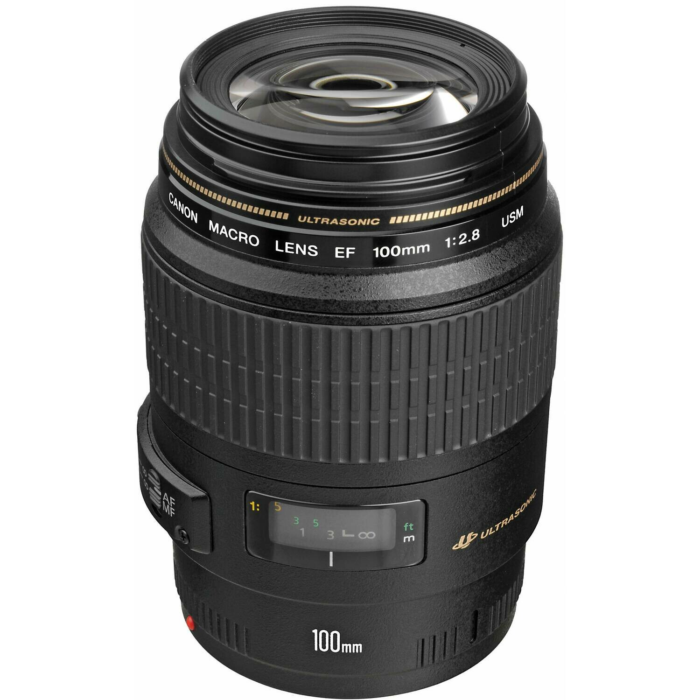 Canon 100mm Macro Lens - EF Mount