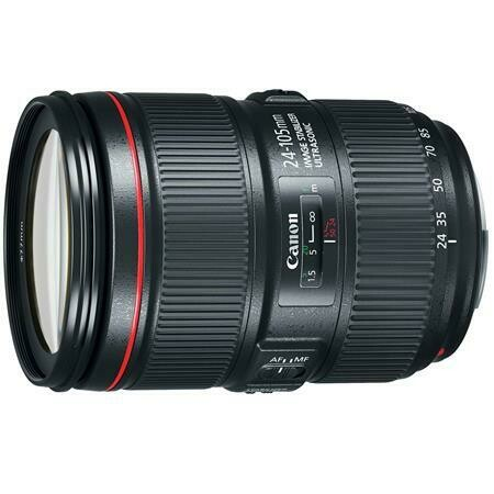 Canon 24-105mm EF Zoom Lens
