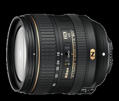 Nikon 16-80mm Zoom Lens