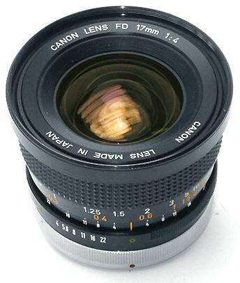 Canon FD 17mm