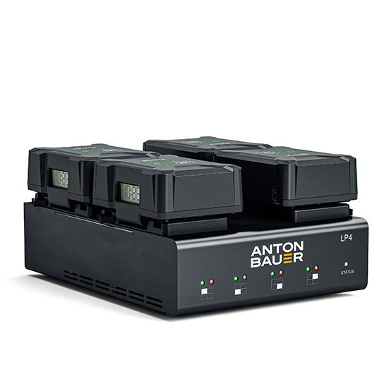 Anton Bauer Titon SL 150GM - 4pack w/ LP4 Charger