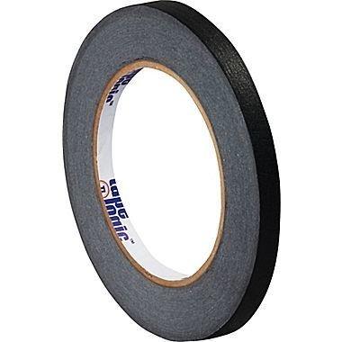 "1"" Black Paper Tape"